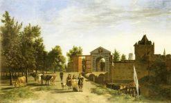The Zijlpoort in Haarlem | Gerrit Adriaensz.Berckheyde | Oil Painting