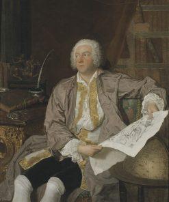 Portrait of Carl Gustav Tessin
