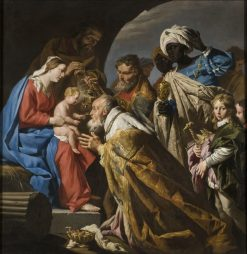The Adoration of the Magi   Matthias Stomer   Oil Painting