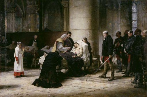 Death of a Hero   Nils Forsberg   Oil Painting