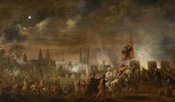 The Siege of Magdeburg   Pieter Meulener   Oil Painting