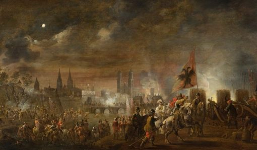 The Siege of Magdeburg | Pieter Meulener | Oil Painting