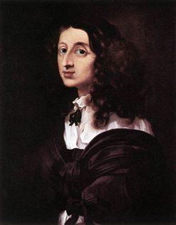 Queen Christina of Sweden   Sebastien Bourdon   Oil Painting