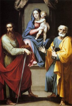 Madonna and Child with Saints Peter and Paul | Giuseppe Cesari | Oil Painting
