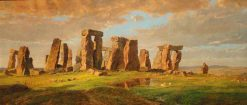 Stonehenge | Jasper Francis Cropsey | Oil Painting