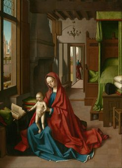 Virgin and Child in a Domestic Interior | Petrus Christus | Oil Painting