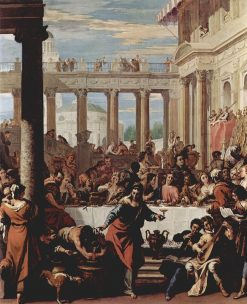 Marriage Feast at Cana | Sebastiano Ricci | Oil Painting