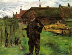 Paul Baum in Sluis | Lovis Corinth | Oil Painting