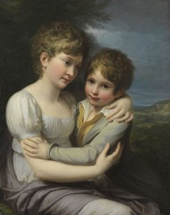 The Painter's Children | Andrea Appiani | Oil Painting