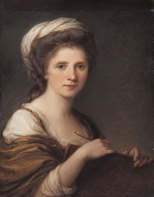 Self-Portrait | Angelica Kauffmann | Oil Painting