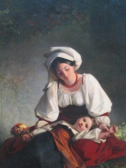 A Mother from Alvito | August Riedel | Oil Painting