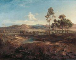 Olympia | Carl Rottmann | Oil Painting