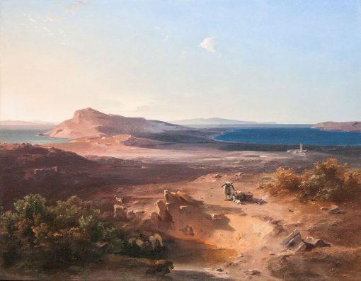 Delos | Carl Rottmann | Oil Painting