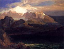 The Eibsee near Partenkirchen | Carl Rottmann | Oil Painting