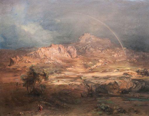 Pronia   Carl Rottmann   Oil Painting