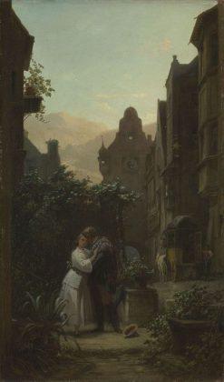 The Good-bye | Carl Spitzweg | Oil Painting