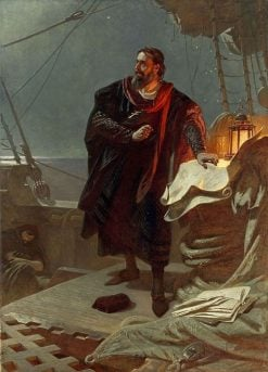 Christopher Columbus | Carl Theodor von Piloty | Oil Painting