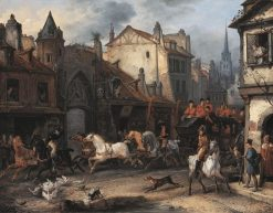 Return from Hunting | Carle Vernet | Oil Painting