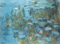 Water-Lilies | Claude Monet | Oil Painting