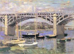 The Bridge at Argenteuil | Claude Monet | Oil Painting