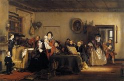 Reading the Will | David Wilkie | Oil Painting
