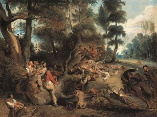 The Attack (after Rubens)   Eugene Delacroix   Oil Painting