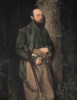 The Royal Saxonian Forest Inspector Carl Ludwig von Schönberg | Ferdinand von Rayski | Oil Painting