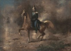 The Military | Ferdinand von Rayski | Oil Painting