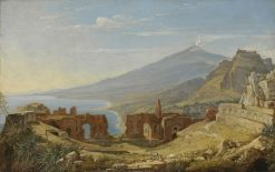 Theatre at Taormina | Franz Ludwig Catel | Oil Painting