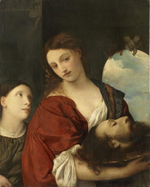 Salome (after Titian) | Franz von Lenbach | Oil Painting