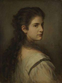 Anna Schubart | Franz von Lenbach | Oil Painting