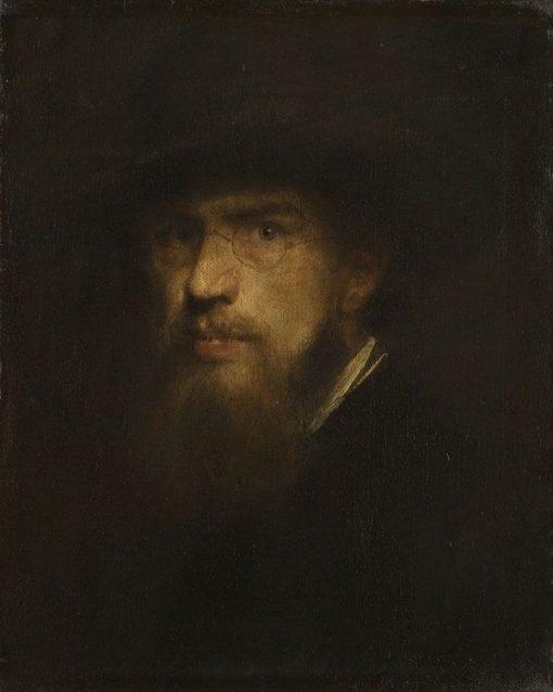 Self Portrait | Franz von Lenbach | Oil Painting
