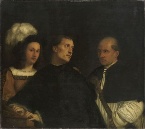 The Concert (after Giorgione) | Franz von Lenbach | Oil Painting