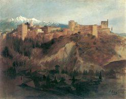 The Alhambra in Granada | Franz von Lenbach | Oil Painting