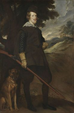 King Philip IV of Spain in Hunting Costume (after Velasquez) | Franz von Lenbach | Oil Painting