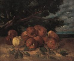 Still Life with Apples | Gustave Courbet | Oil Painting