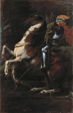 The Three Riders II: Saint George | Hans von MarEes | Oil Painting