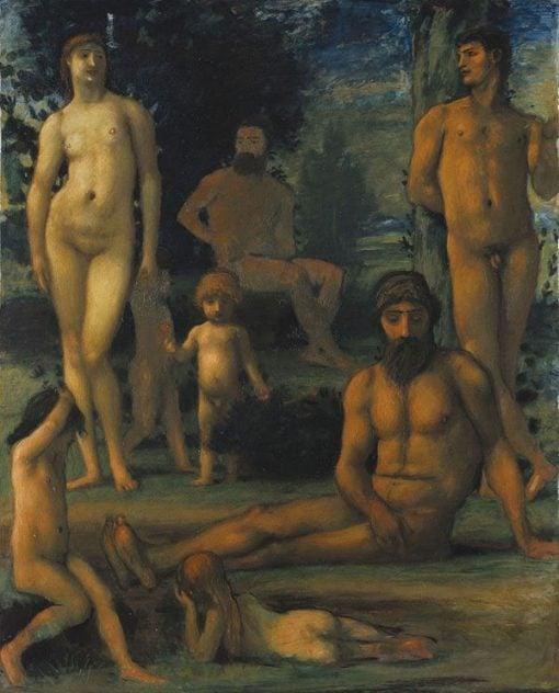 Golden Age II   Hans von MarEes   Oil Painting