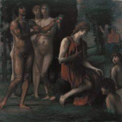 In Praise of Modesty | Hans von MarEes | Oil Painting