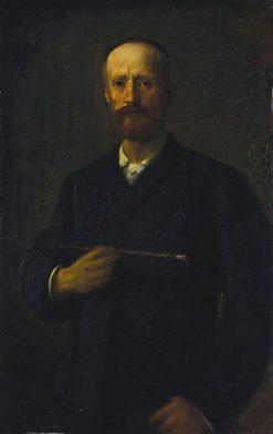 Self Portrait | Hans von MarEes | Oil Painting