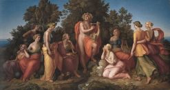 Apollo and the Muses | Heinrich Maria von Hess | Oil Painting