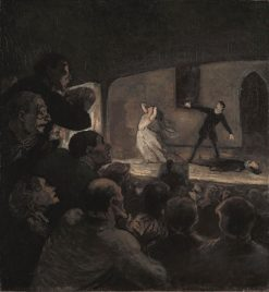 The Drama | HonorE Daumier | Oil Painting