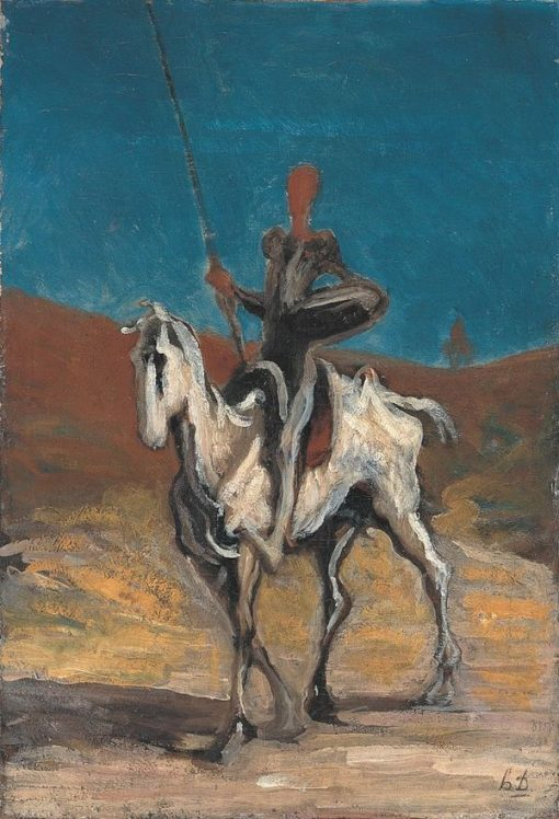 Don Quixote | HonorE Daumier | Oil Painting