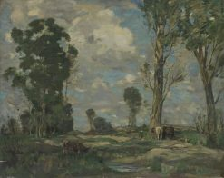 Landscape with Cows | James Whitelaw Hamilton | Oil Painting