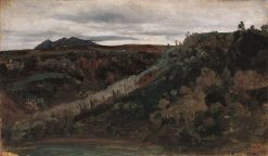 Roman Campagna | Jean Baptiste Camille Corot | Oil Painting