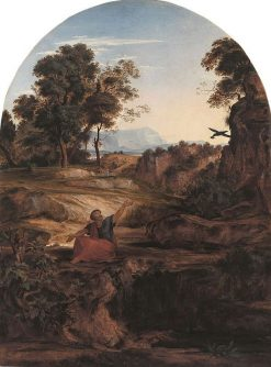 Elijah in the Wilderness | Johann Heinrich Ferdinand Olivier | Oil Painting