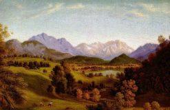Landscape | Johann Heinrich Ferdinand Olivier | Oil Painting