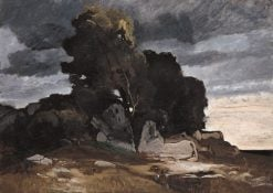 Storm(also known as Heroic Landscape) | Johann Stabli | Oil Painting