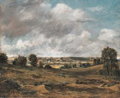View of Dedham Vale from East Bergholt | John Constable | Oil Painting