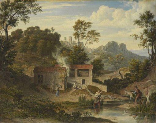 Brick Hut near Olevano | Joseph Anton Koch | Oil Painting